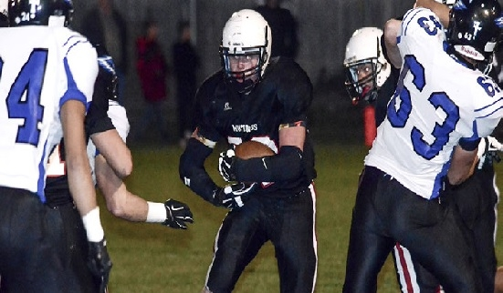 Sutton senior Noah Johnson, behind a total of 2,892 yards, led all of Nebraska in rushing and finished his career 11th on the national charts. He broke one state record in Class C-2 and set a total of 11 school records, helping the Mustangs to a 9-1 record and a final ranking of sixth in Class C-2. -CCN File