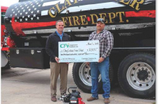 CPI partners with Land O' Lakes to donate to local fire department