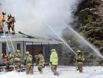 Fire destroys Sutton home