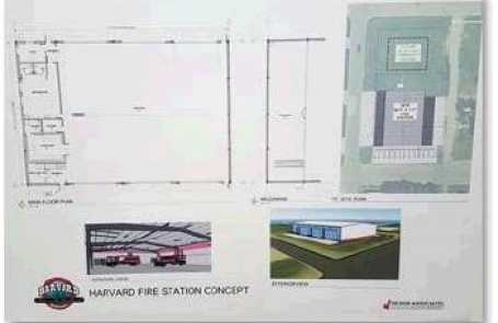 Harvard Council adopts ordinance for new fire hall