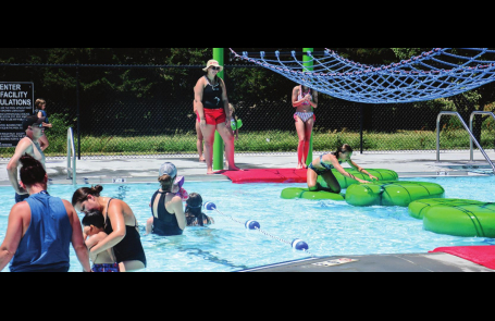 Clay Center Pool opens; Edgar hosts fireworks show