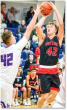 Sutton finds basketball legs