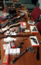 Sutton PD arrest 5, cite 4 in criminal activities