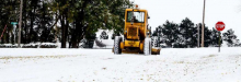 First snowfall of season leaves light dusting on county