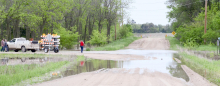 Heavy rains dowse Clay County area over weekend