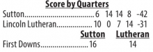Sutton wins shootout Friday