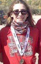 Rowen Jarosik is state runner-up at junior high state cross country meet