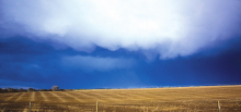 Stormy weather blows over county
