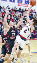 Mustangs roll D-T Cards