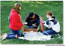 Harvard Math Club competes at Doane, UNO