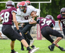 Cardinals blank St. Ed 38-0 Friday
