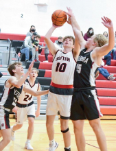 Mustangs claim overtime win over Centurions 59-54