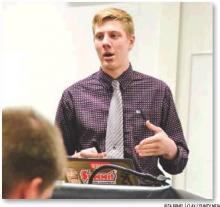 NCAPS student explains ethanol crisis affecting local farmers