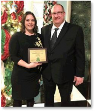 NAE4-HA awards Alley with 4-H Distinguished Service honor